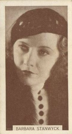 Barbara Stanwyck 1934 Wills Famous Film Stars