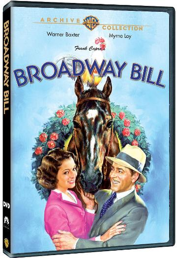 Broadway Bill on DVD-R