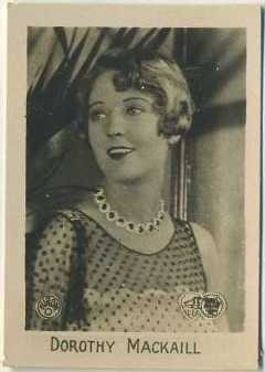 Dorothy Mackaill 1931 Orami German Tobacco Card