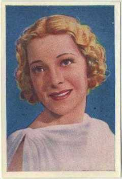 Helen Vinson 1936 Nestle Stars of the Silver Screen