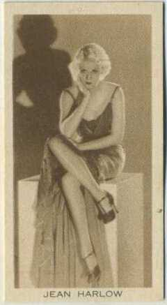 Jean Harlow 1931 BAT Cinema Artistes