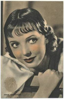 Jessie Matthews 1933 Boys Cinema Postcard
