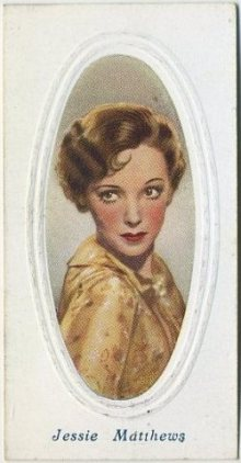 Jessie Matthews 1936 Godfrey Phillips Screen Stars