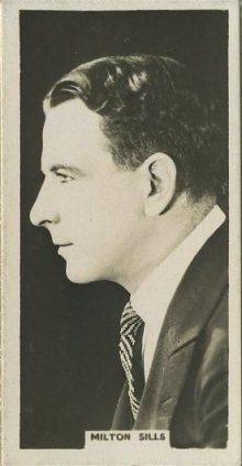 Milton Sills 1925 Rothmans Tobacco Card