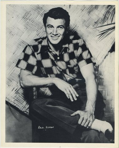 Rock Hudson 1954 Hollywood Star Pix
