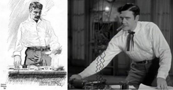 William Gillette and Richard Dix