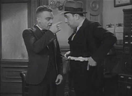 James Cagney and Allen Jenkins