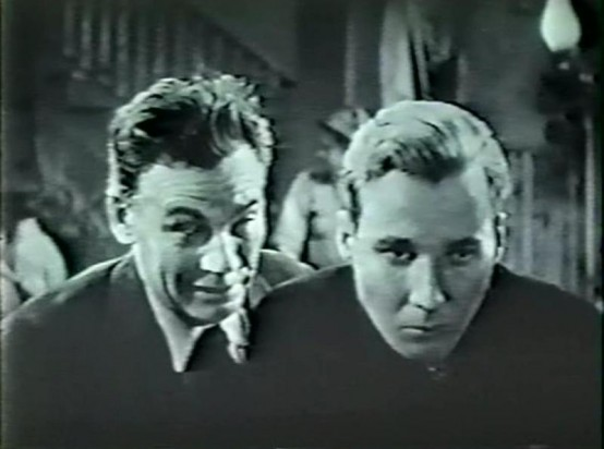 Walter Huston and Kent Douglass
