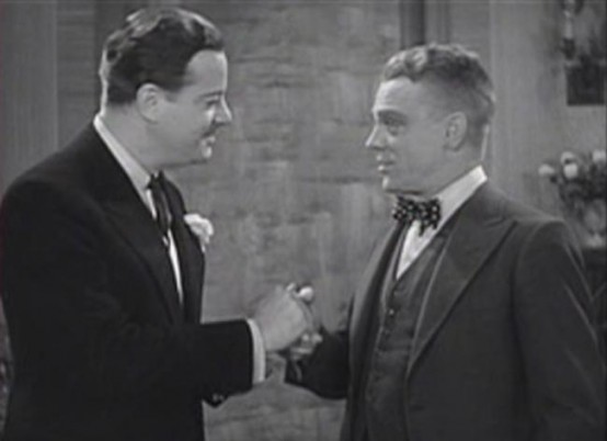 Alan Dinehart and James Cagney