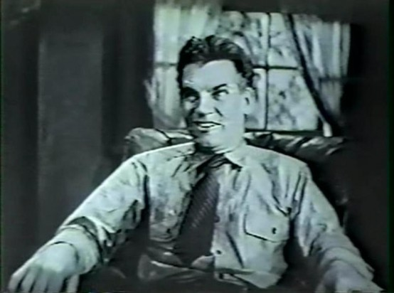 Walter Huston in A House Divided