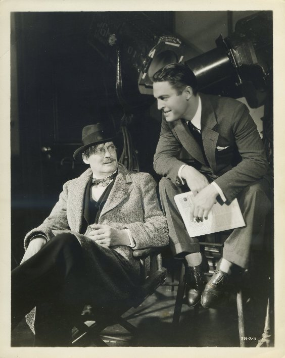 Lionel Barrymore and Chester Morris