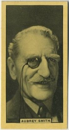 C Aubrey Smith 1932 BAT Cinema Artistes