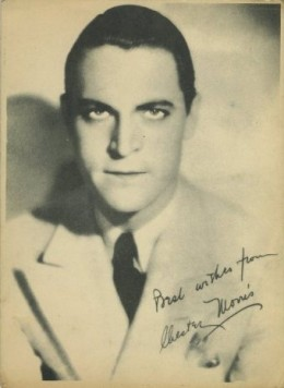 Chester Morris Late 1920s Kashin Photo Card