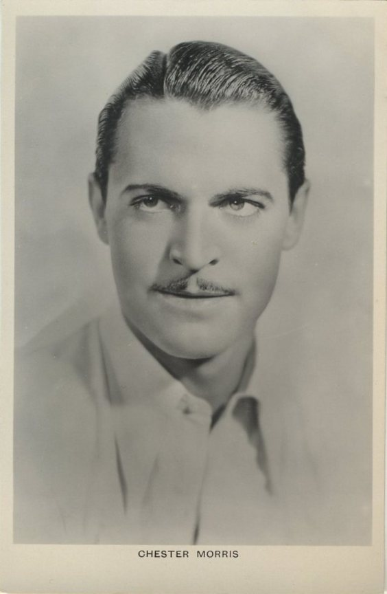 Chester Morris early 1930s real photo postcard