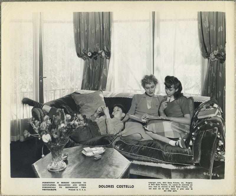 Dolores Costello 1942 RKO Promotional Photo DC-256