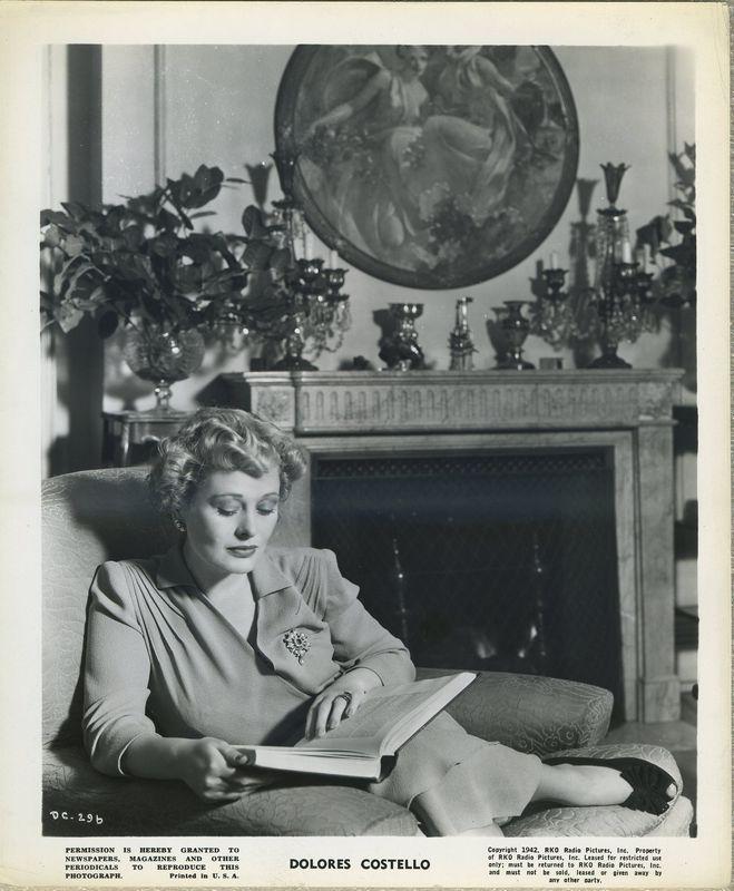Dolores Costello 1942 RKO Promotional Photo DC-296
