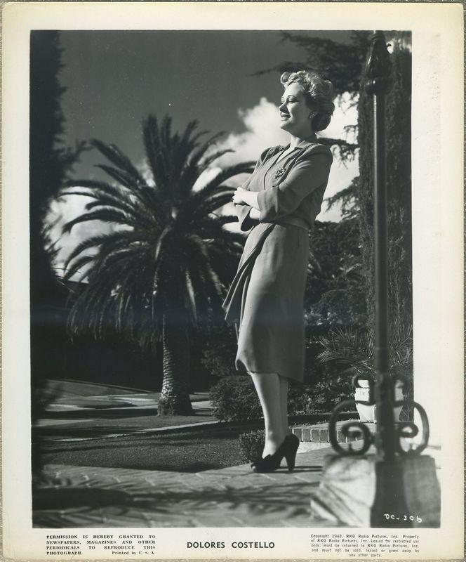 Dolores Costello 1942 RKO Promotional Photo DC-306