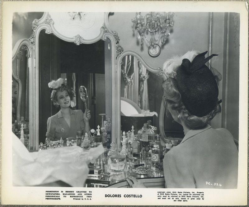 Dolores Costello 1942 RKO Promotional Photo DC-326