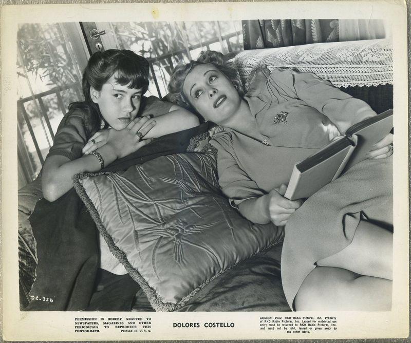 Dolores Costello 1942 RKO Promotional Photo DC-336