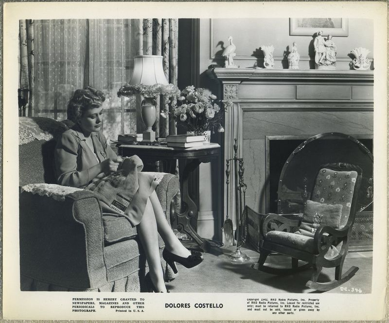 Dolores Costello 1942 RKO Promotional Photo DC-346