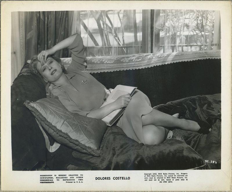 Dolores Costello 1942 RKO Promotional Photo DC-356