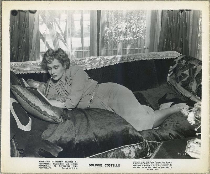 Dolores Costello 1942 RKO Promotional Photo DC-376