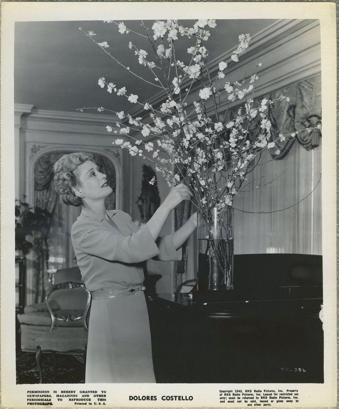 Dolores Costello 1942 RKO Promotional Photo DC-386