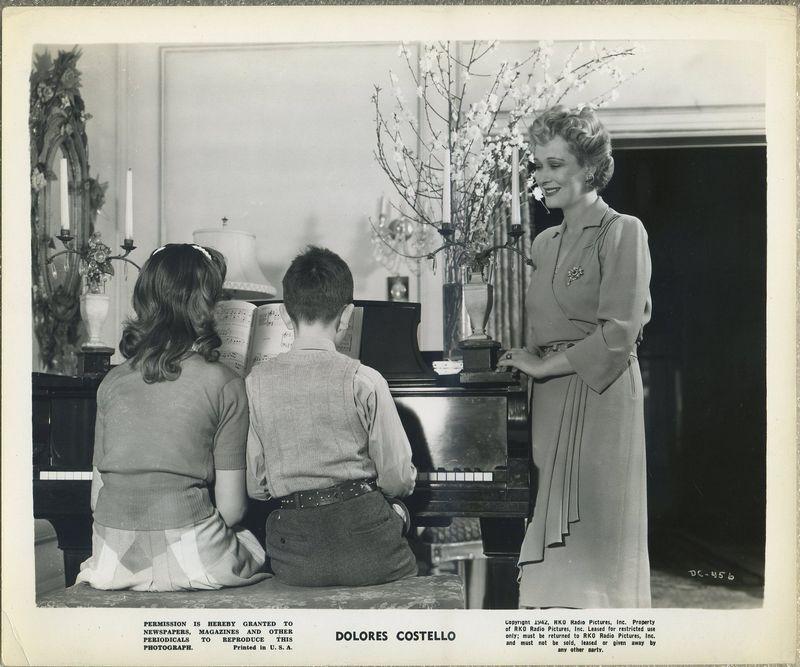 Dolores Costello 1942 RKO Promotional Photo DC-456