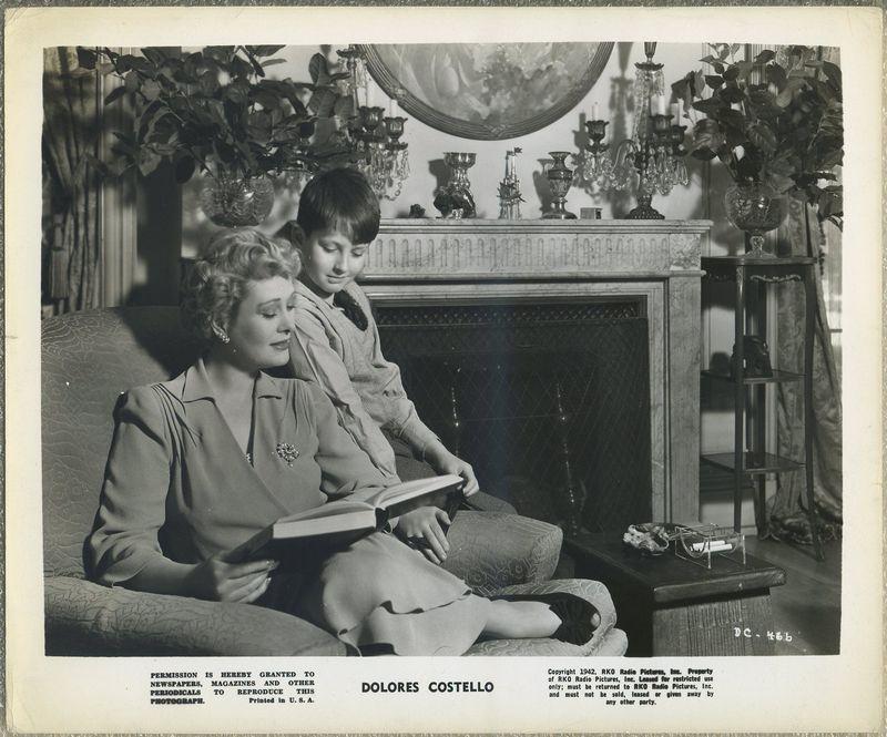 Dolores Costello 1942 RKO Promotional Photo DC-466