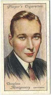 Douglass Montgomery 1934 Player Film Stars