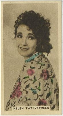 Helen Twelvetrees 1934 Cavanders Movie Card