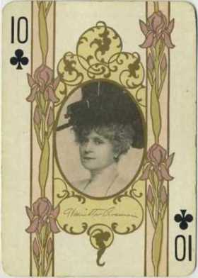 Henrietta Crosman 1908 Playing Card