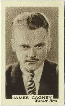James Cagney 1936 Facchinos Trading Card
