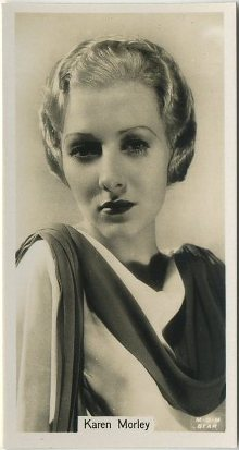Karen Morley 1934 John Sinclair Film Stars