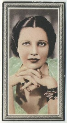 Kay Francis 1936 Godfrey Phillips Stars of the Screen