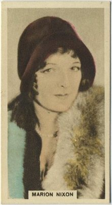 Marian Nixon 1934 Cavanders Trading Card