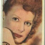 Maureen O'Hara 1955 Kane Products Trading Card