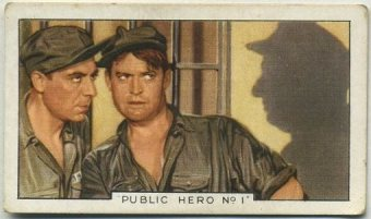 Chester Morris and Joseph Calleia 1936 Gallaher Film Episodes