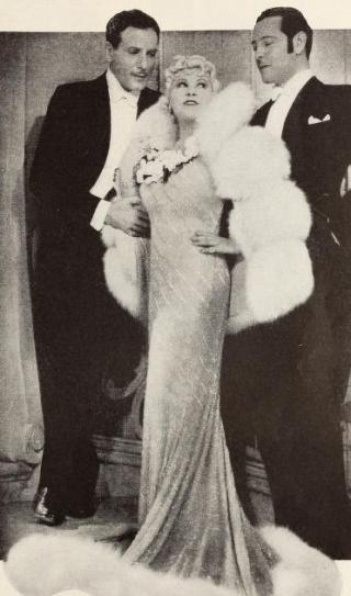 Paul Cavanagh Mae West and Ivan Lebedoff