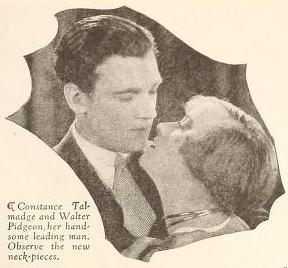 Walter Pidgeon and Constance Talmadge