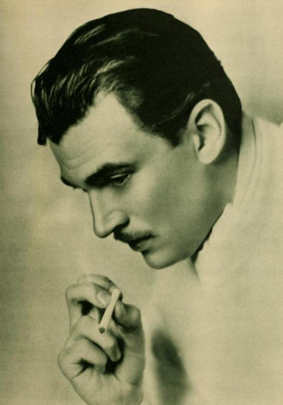 Walter Pidgeon by Elmer Fryer 1930