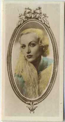 Carole Lombard 1934 Godfrey Phillips Stars of the Screen