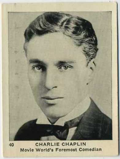 Charlie Chaplin 1920s Schinasi Brothers Egyptian Prettiest Tobacco Card
