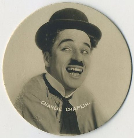 Charlie Chaplin 1924 Godfrey Phillips Tobacco Card