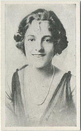 Elise Janie circa 1917 Kromo Gravure Trading Card