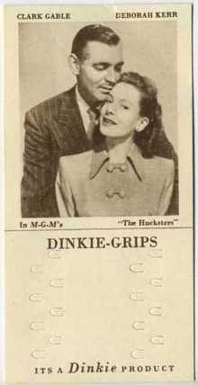 Clark Gable and Deborah Kerr 1948 Dinkie Grips