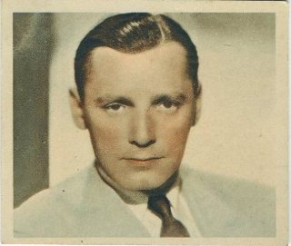 Herbert Marshall 1934 Godfrey Phillips Shots from the Films