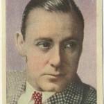 Herbert Marshall 1930s Editorial Bruguera Trading Card
