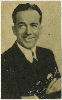Jack Mulhall 1928 Blatz Gum