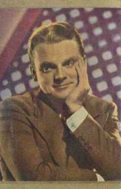 James Cagney 1930s Danmarks Trading Card
